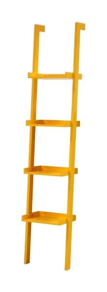 Raft din MDF Wall Yellow l365xA32xH180 cm