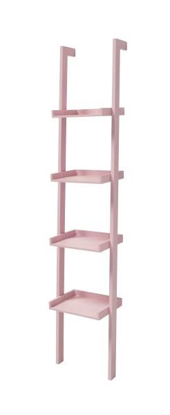 Raft din MDF Wall Pink l365xA32xH180 cm