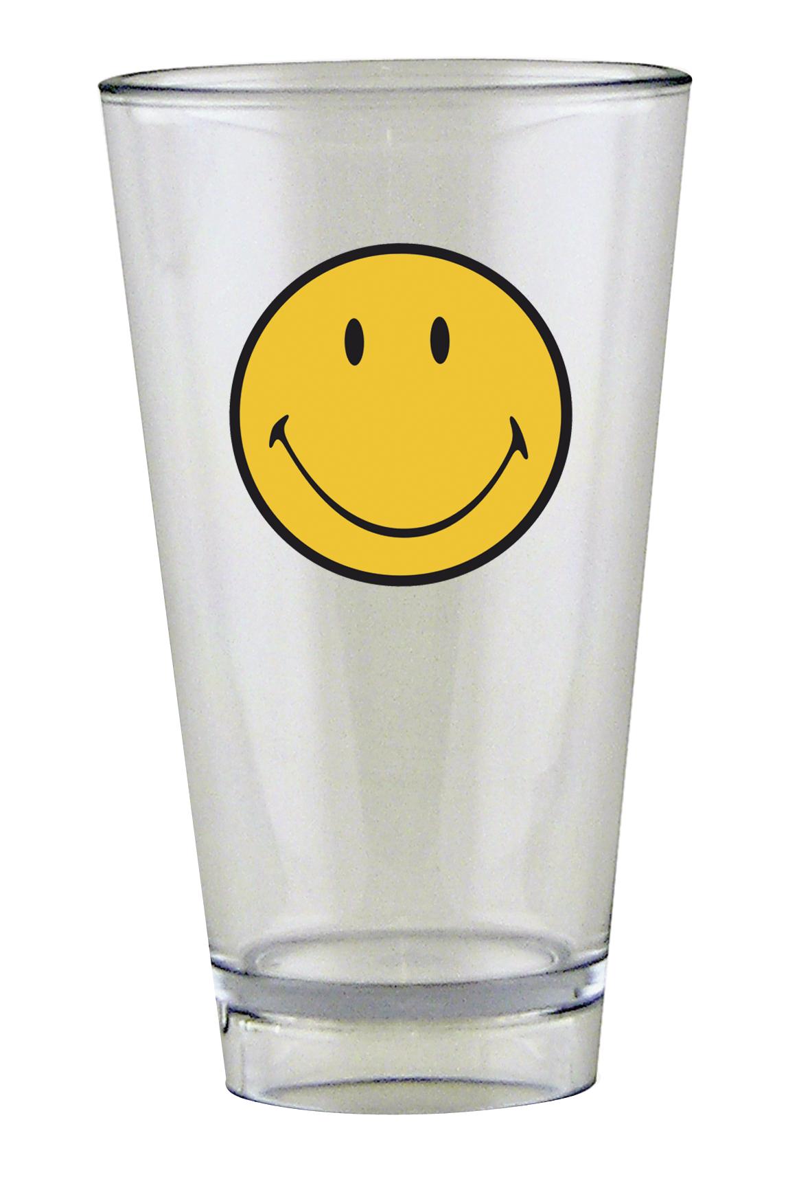 Pahar pentru party Smiley Tumbler Galben/Transparent 330 ml