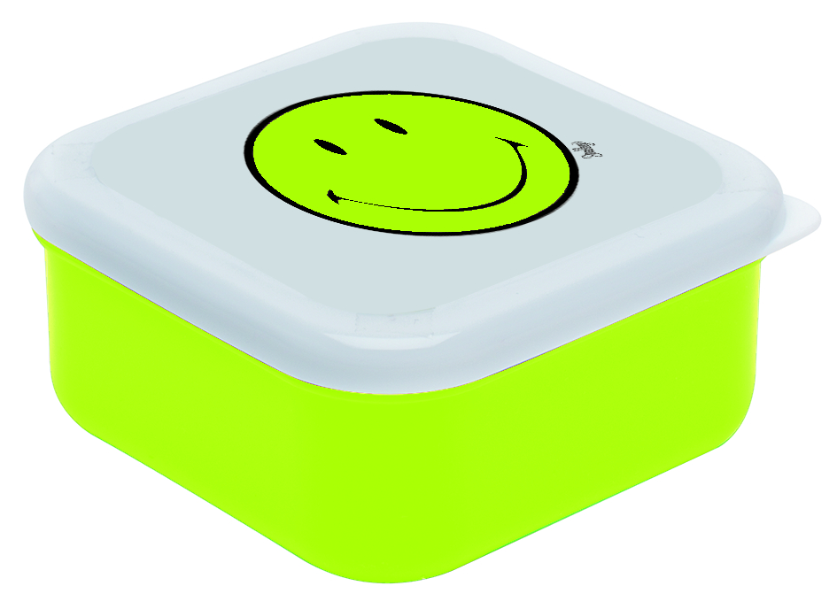 Cutie Pentru Sandwich Square Verde/alb  12x12 Cm