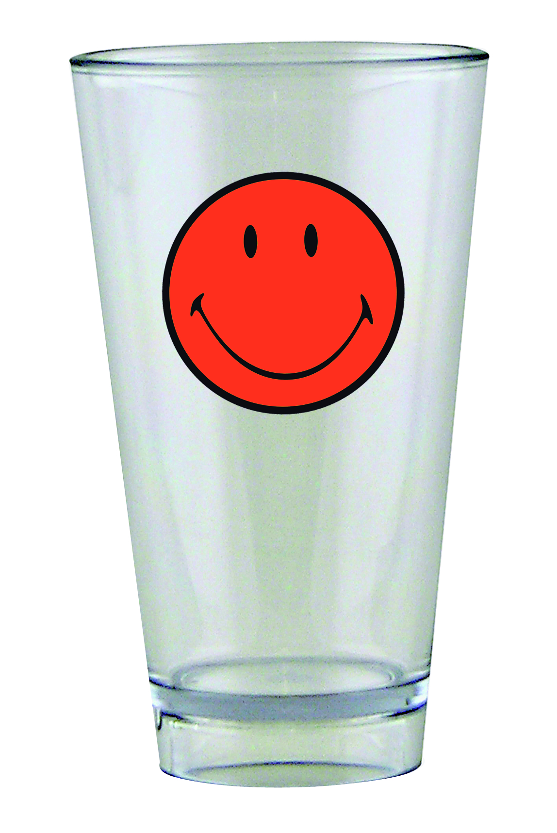 Pahar pentru party Smiley Tumbler Portocaliu/Transparent 330 ml