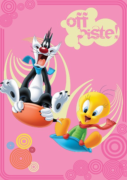 Covor Disney Kids Tweety & Sylvester 743, Imprimat Digital