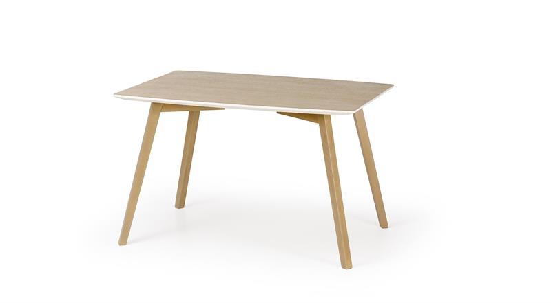 Masa din MDF si lemn de fag Petrus Wood, L120xl85xh75 cm imagine