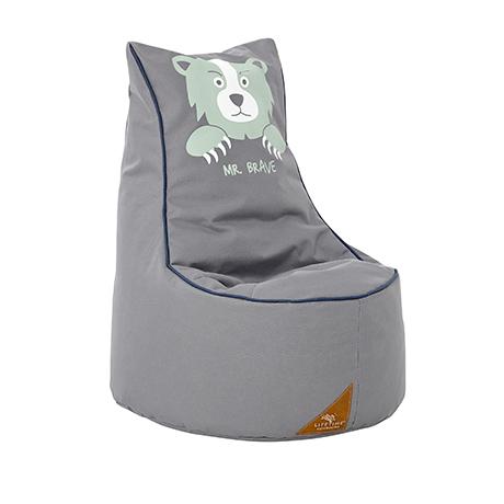 Fotoliu Relaxare pentru copii Forest Ranger Grey O 52xH65 cm