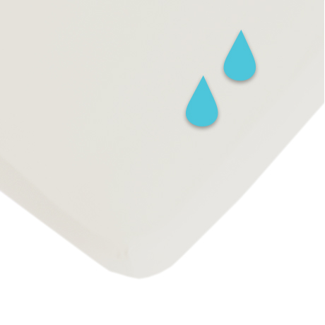 Cearceaf Cotton White Waterproof