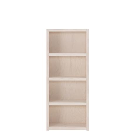 Biblioteca cu 3 Rafturi Whitewash, L66,6xl35xh159 cm