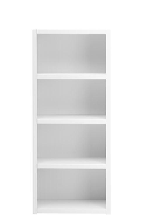 Biblioteca din lemn cu 3 Rafturi White l666xA35xH159 cm