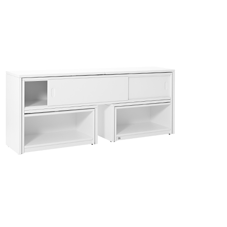 Birou Multifunctional Play & Store, White, L170xl35/120xh72 cm