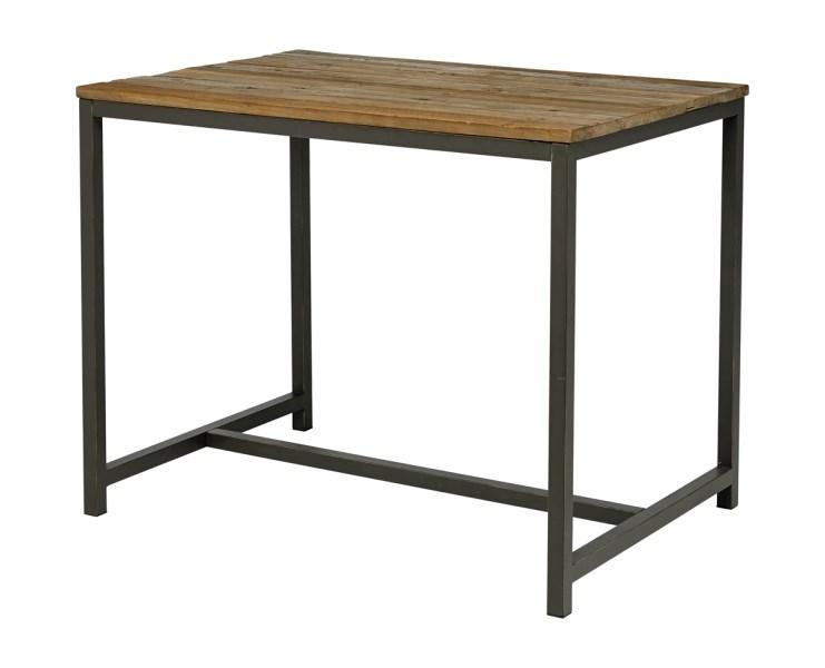 Masa de bar din lemn de ulm Vintage L130xl90xh104 cm