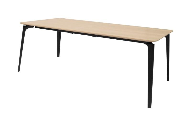 Masa Connect Oak/Black, L200xl100xh74,8 cm