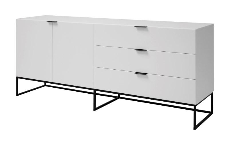 Consola Kobe White, L180xl45xh80 cm