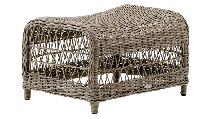 Taburet din rattan Dawn Antique