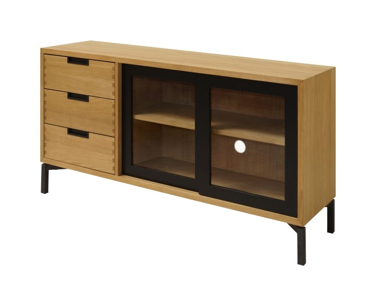 Consola Apartment Oak, L143xl40xh75 cm
