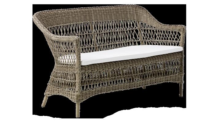 Canapea din rattan Charlot Antique 2