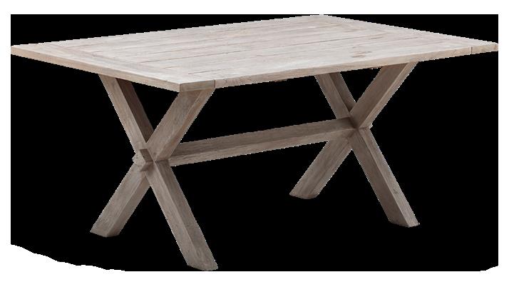 Masa din lemn de Tec Colonial L160xl100xh725 cm
