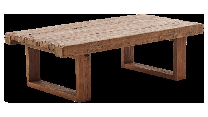 Masa din lemn de tec Alexander Small L130xl66xh40 cm