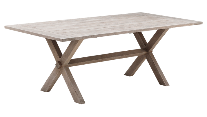 Masa din lemn de Tec Colonial 200cm x 100cm
