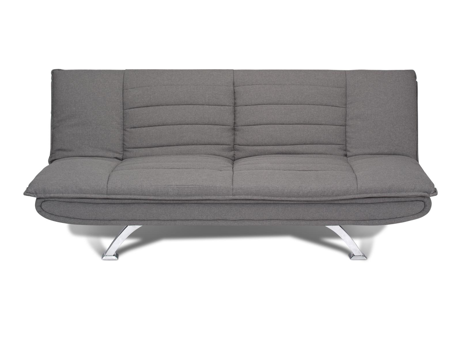 Canapea extensibila tapitata cu stofa 3 locuri Bart Grey l193xA102xH86 cm