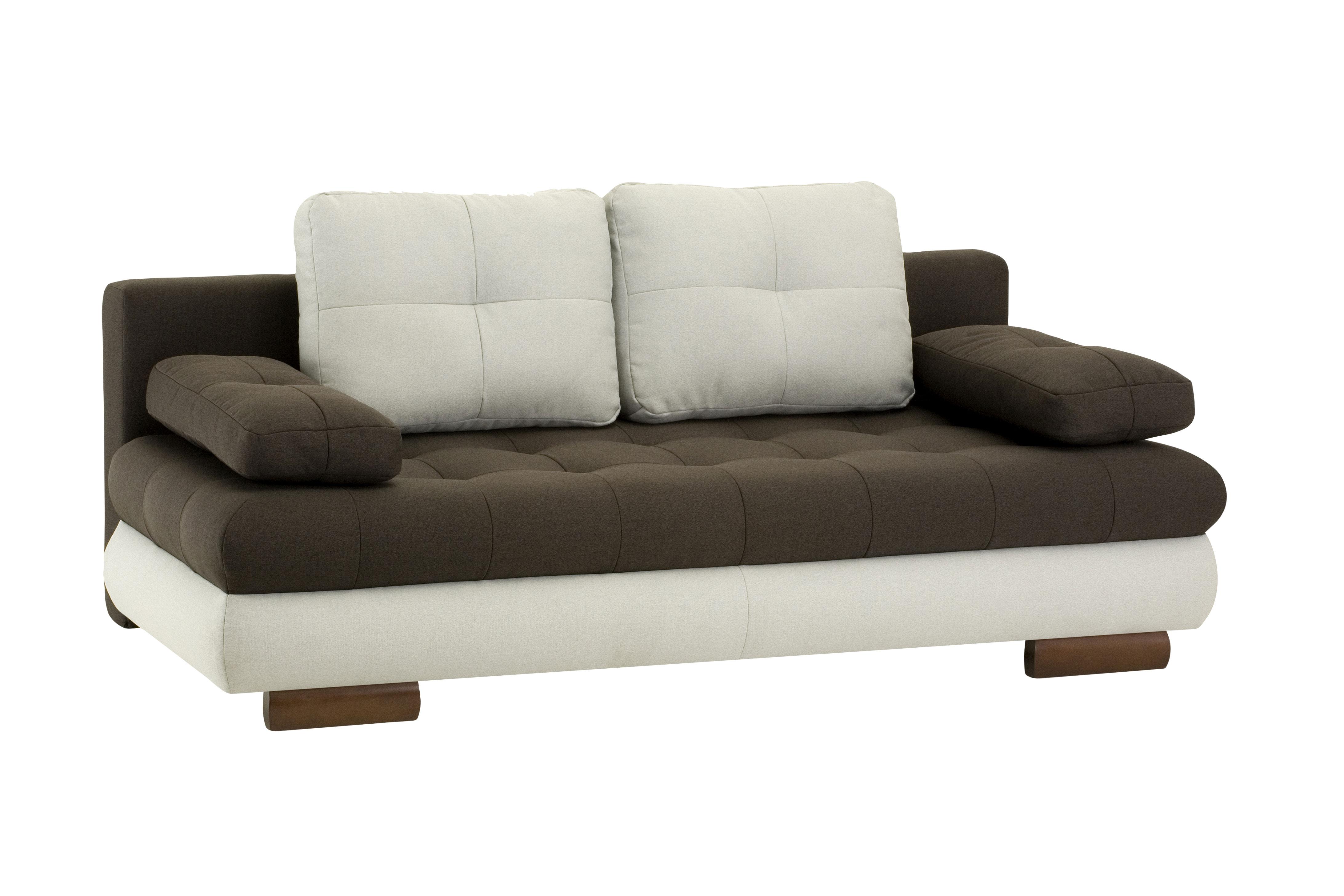 Canapea extensibila 3 locuri Luore Brown
