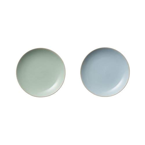 Set 2 farfurii Olivia Blue/Mint