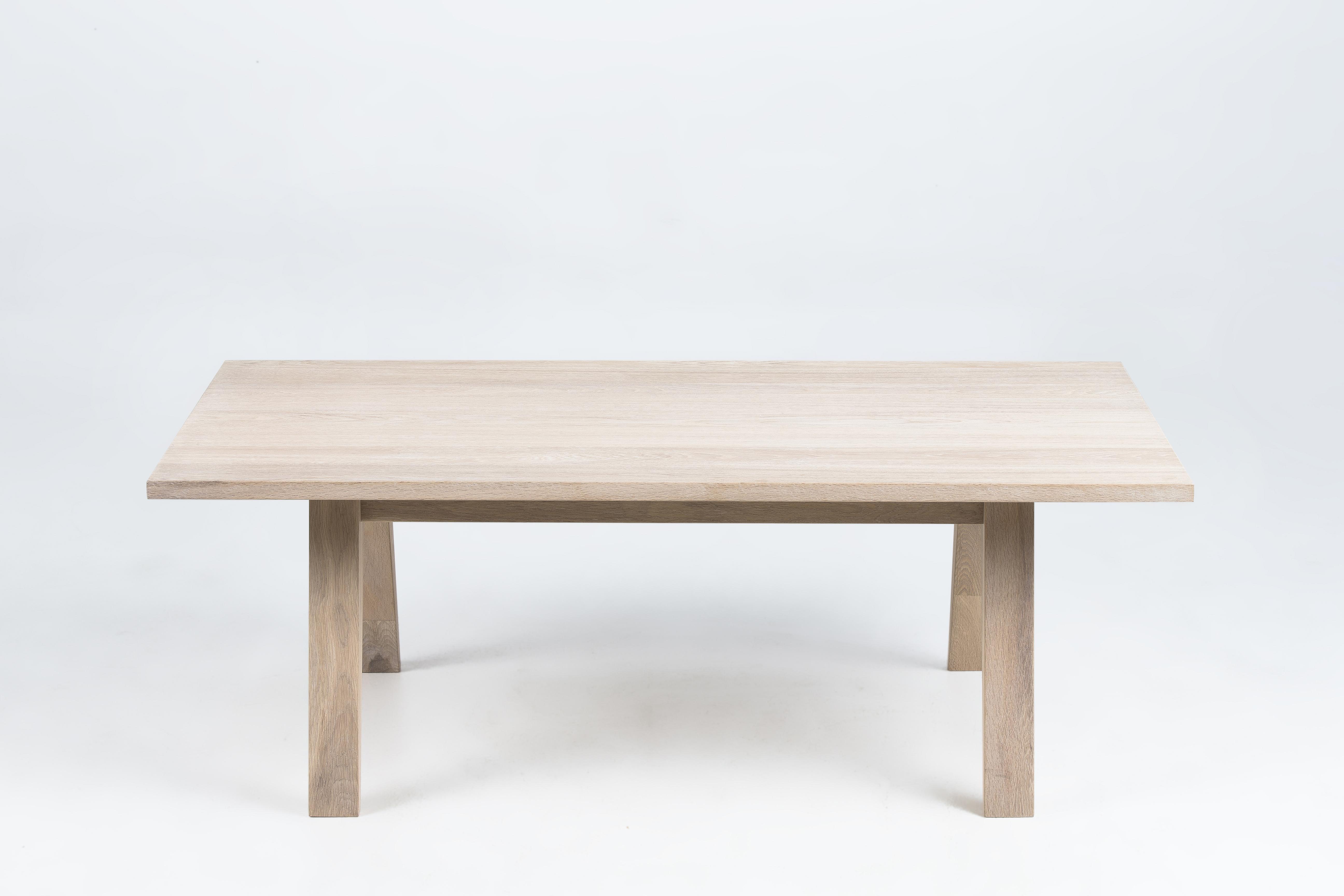 Masa de cafea din lemn si furnir A-Line, L130xl70xh45 cm