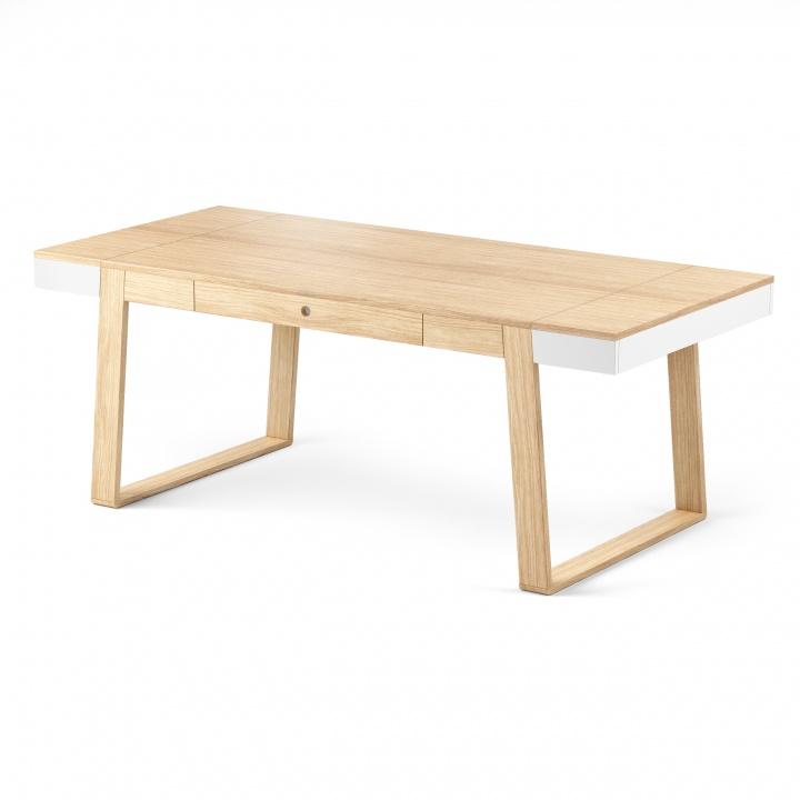 Masa Magh Oak Oak, L198xl100xh75 cm