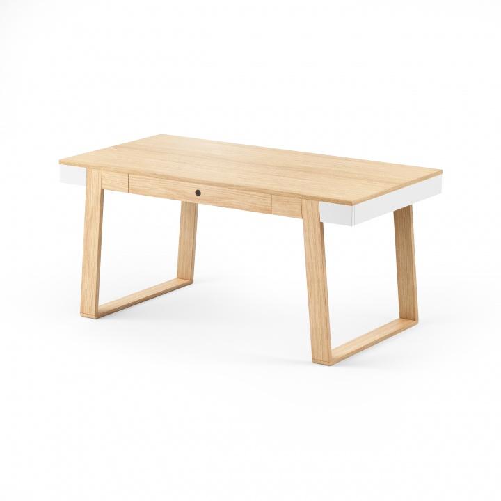 Masa Magh Oak Oak, L160xl90xh75 cm