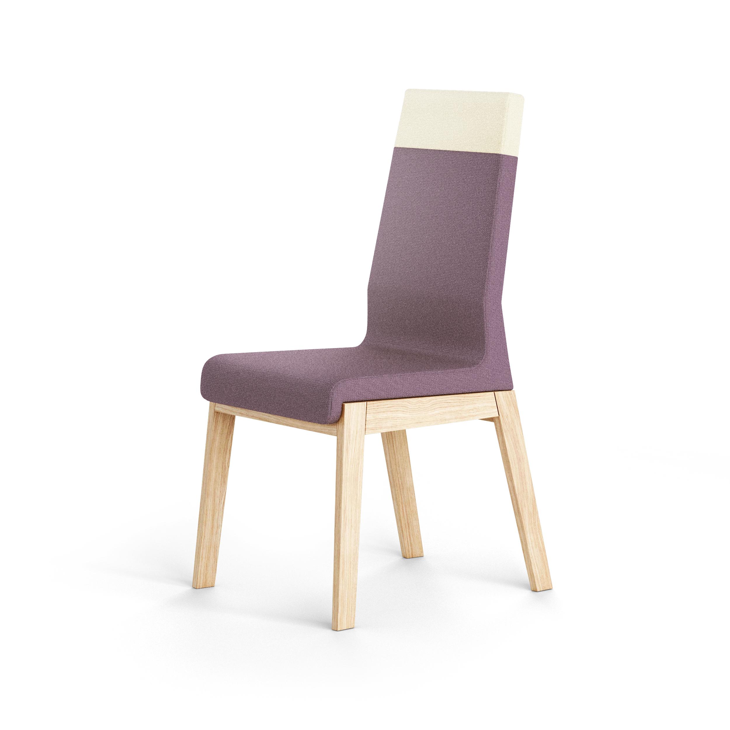 Scaun Kyla High Purple/Beige