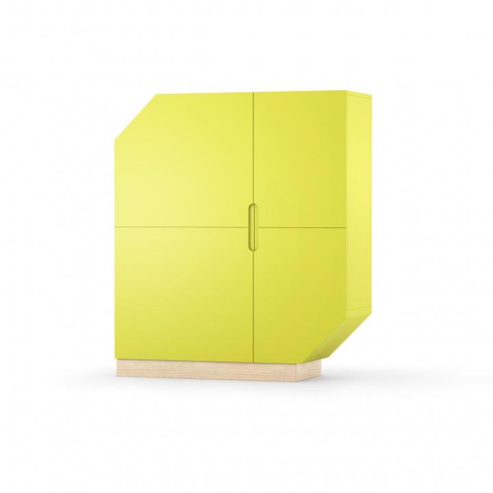 Cabinet Nook Standard Oak Lime/Natural, L107xl39xh126 cm