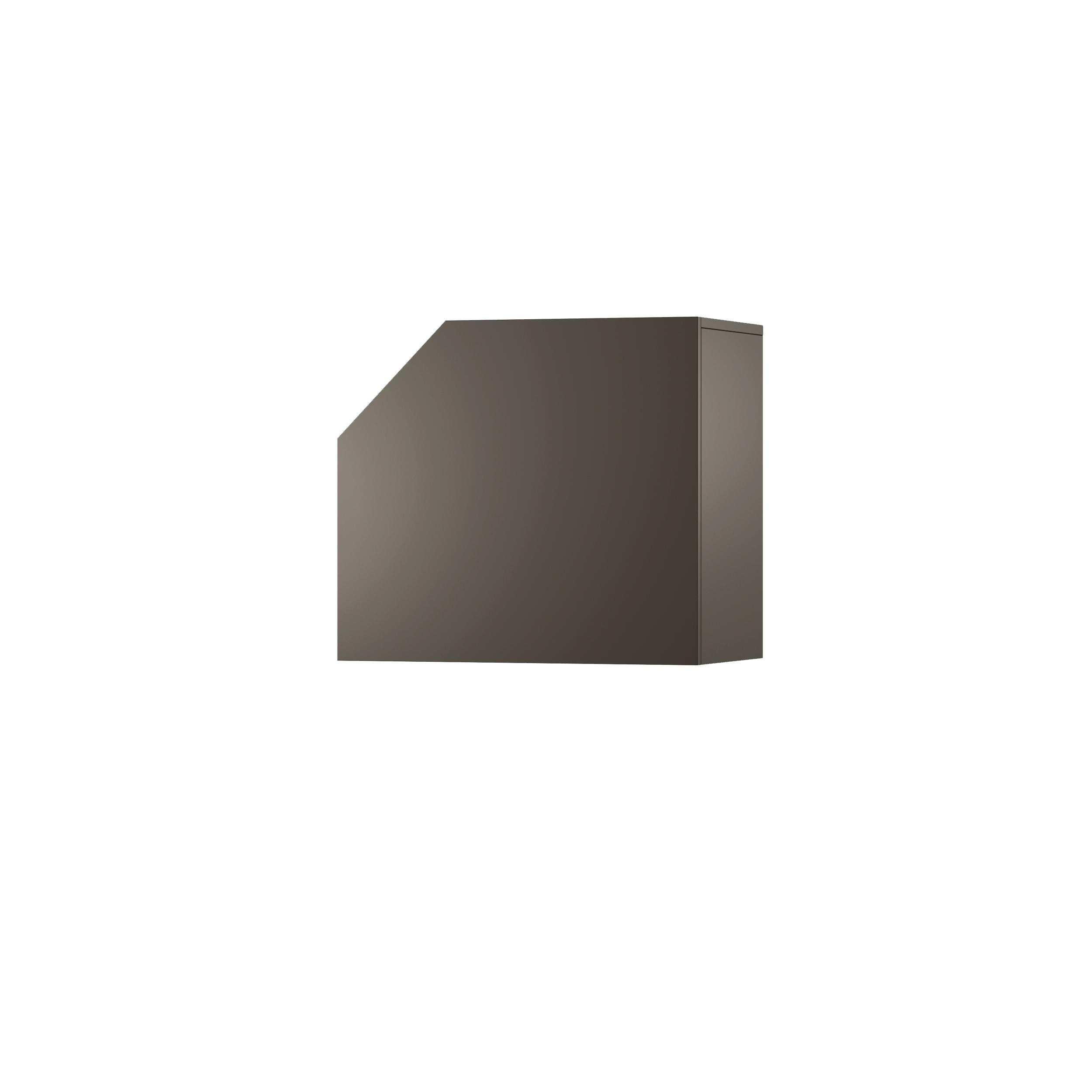 Dulap modular Nook Left Graphite, L65xl37xh58 cm