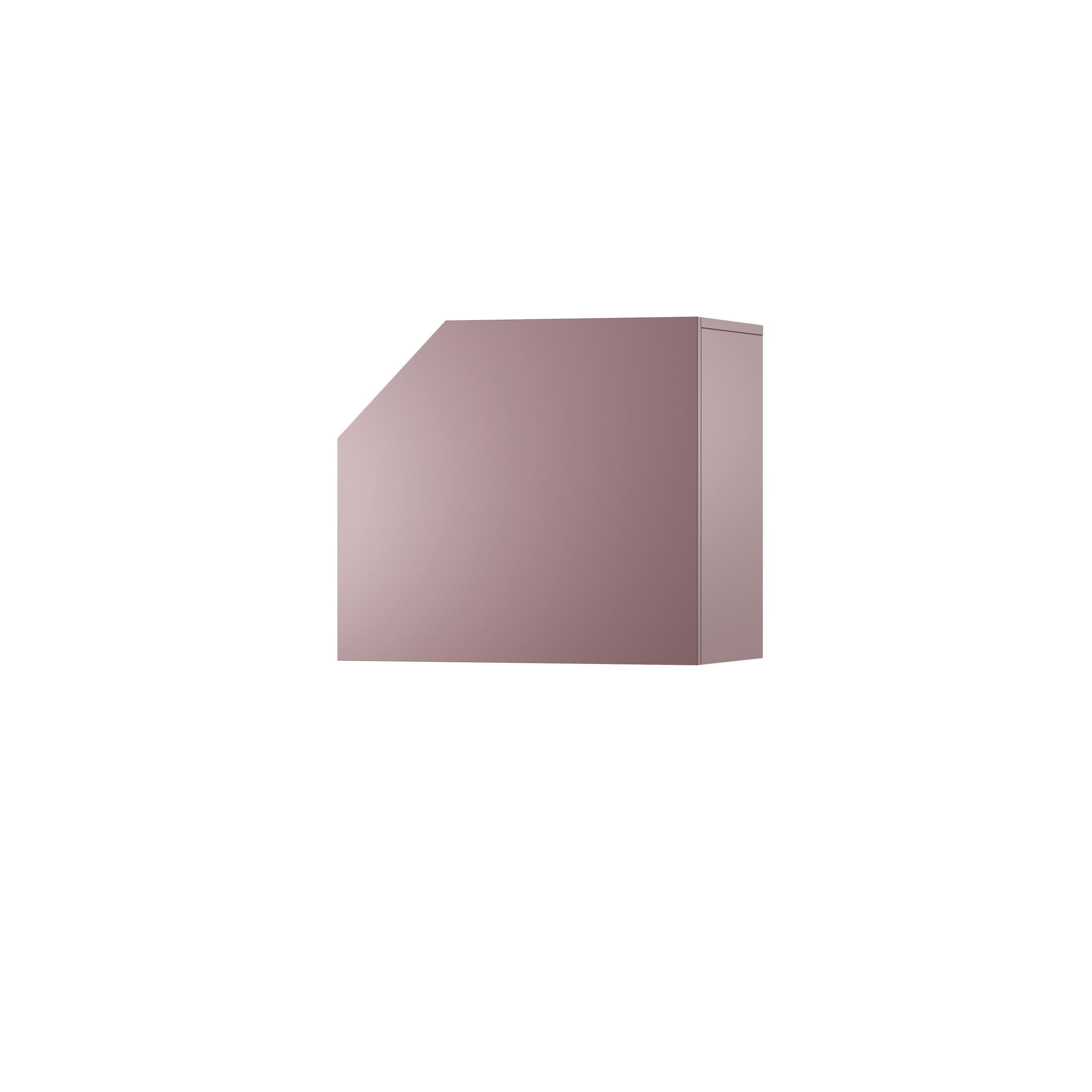 Dulap modular Nook Left Violet, L65xl37xh58 cm