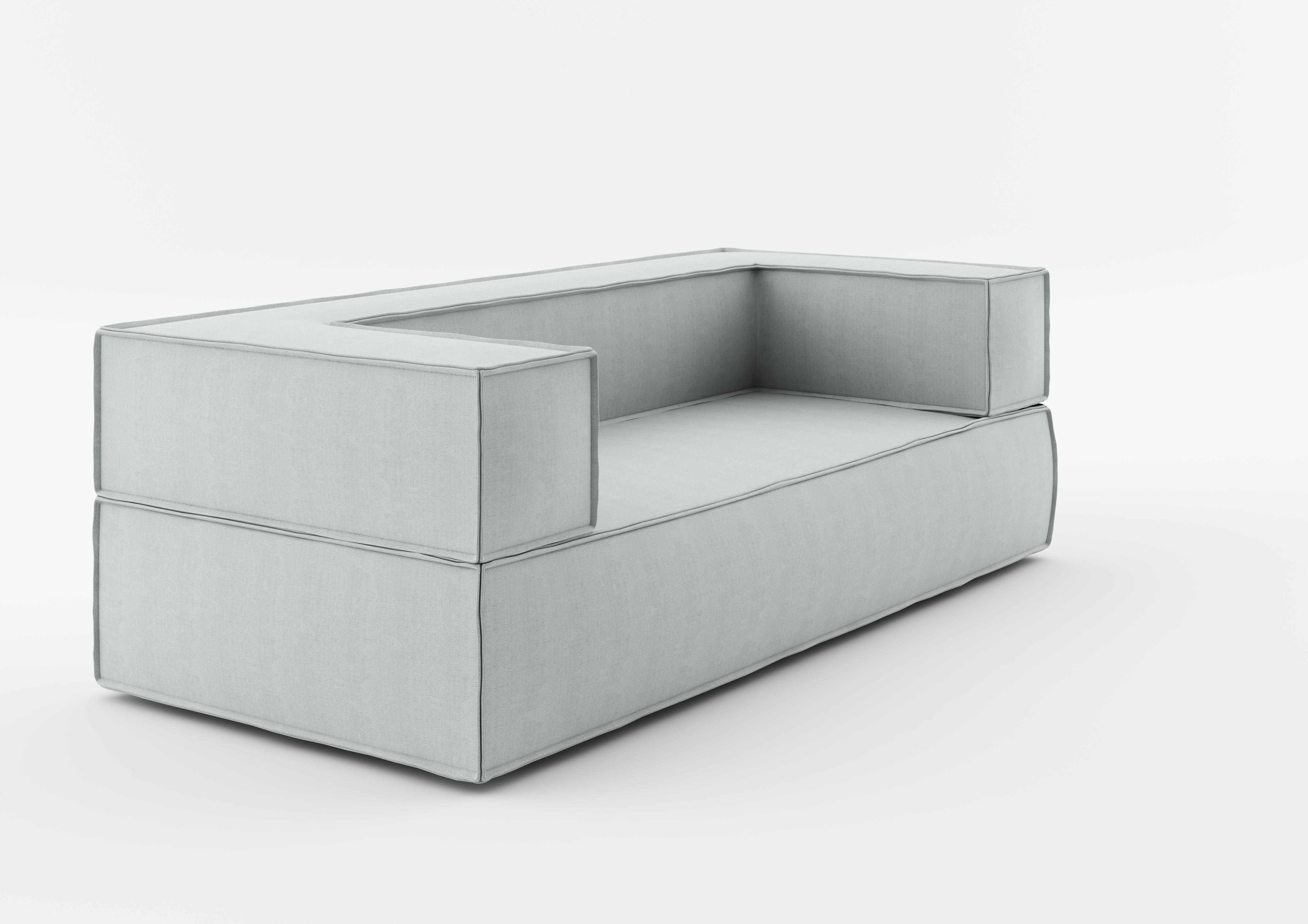Canapea NOi 200 Grey