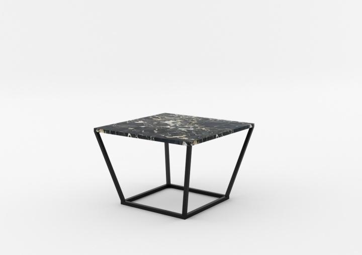 poze cu Masa de cafea NOi Italy Square Black, L68xl68xh50 cm