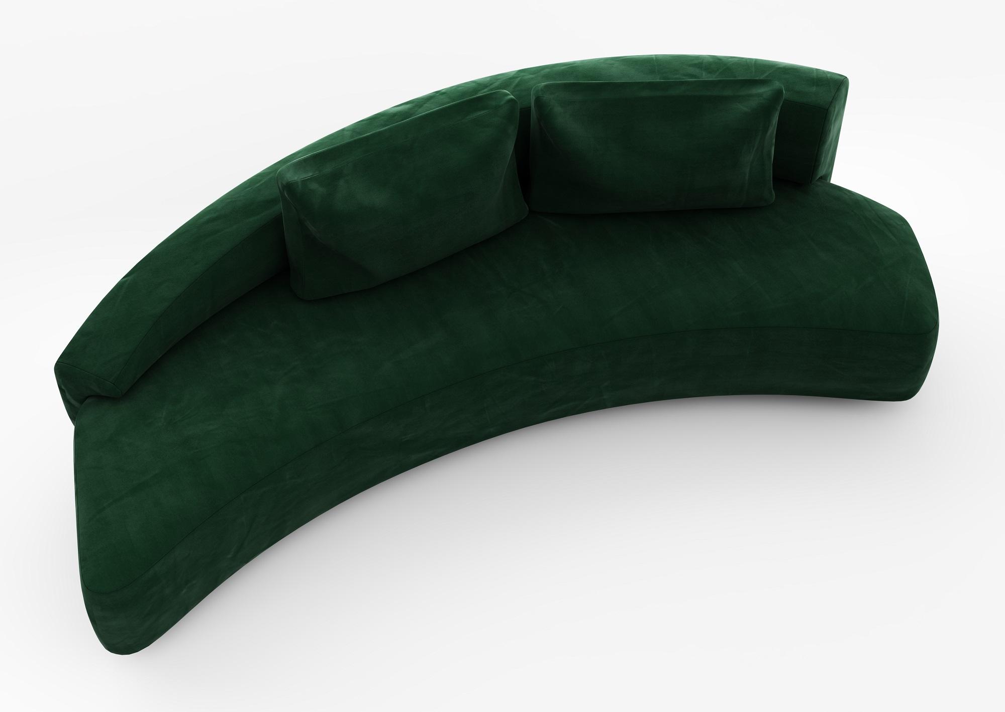 Canapea Fixa Verde - 111