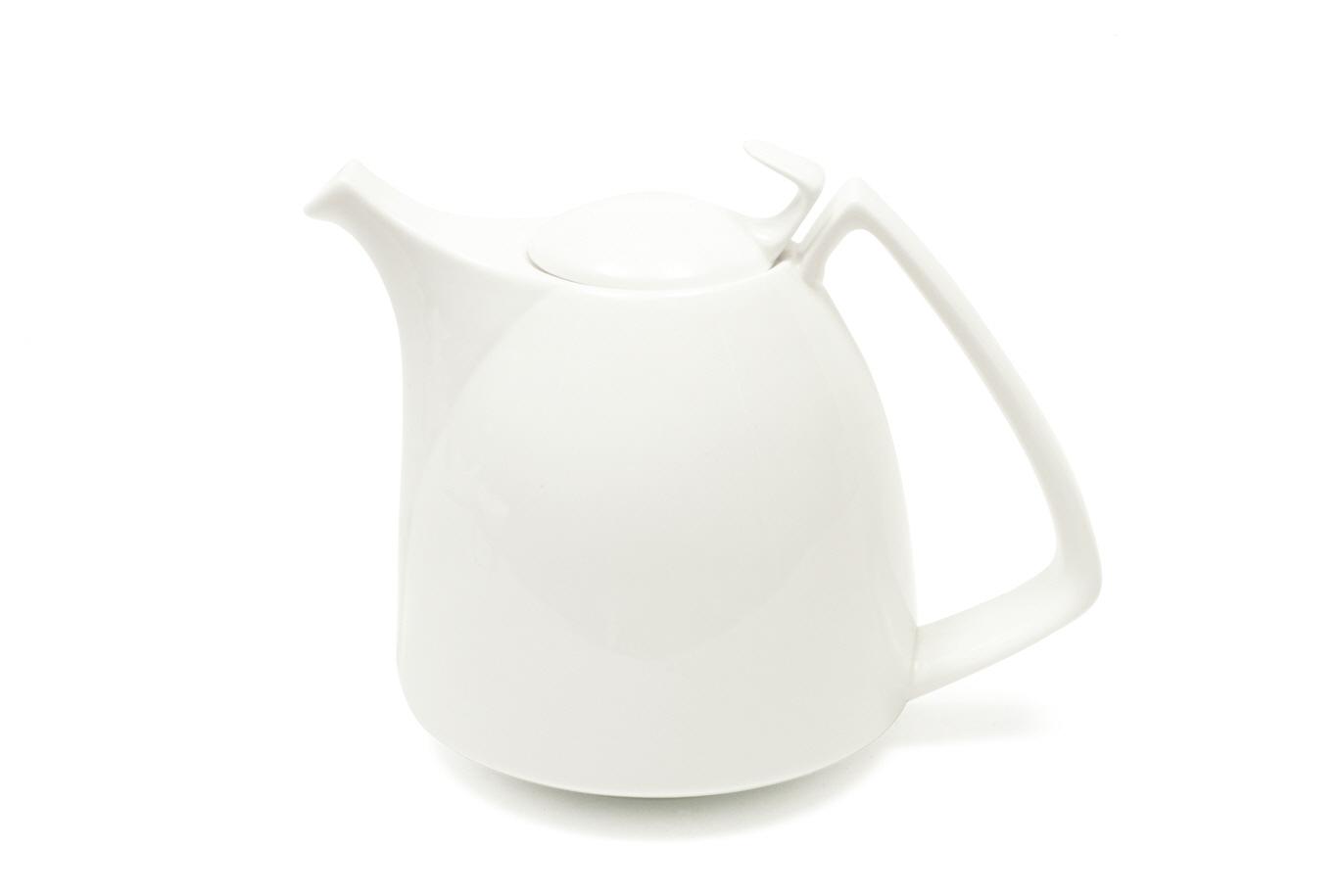 Ceainic White Basics Korso Alb, Portelan, 1,5 l