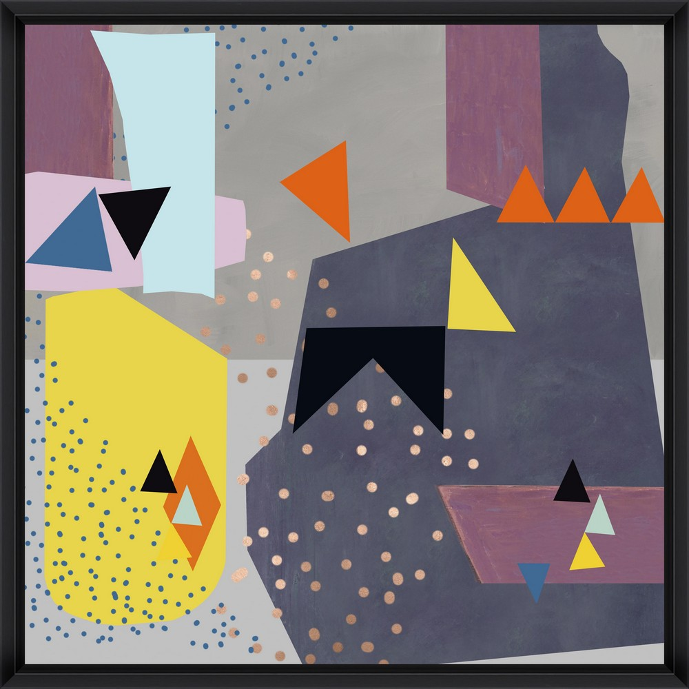Tablou Framed Art Abstract Triangles I