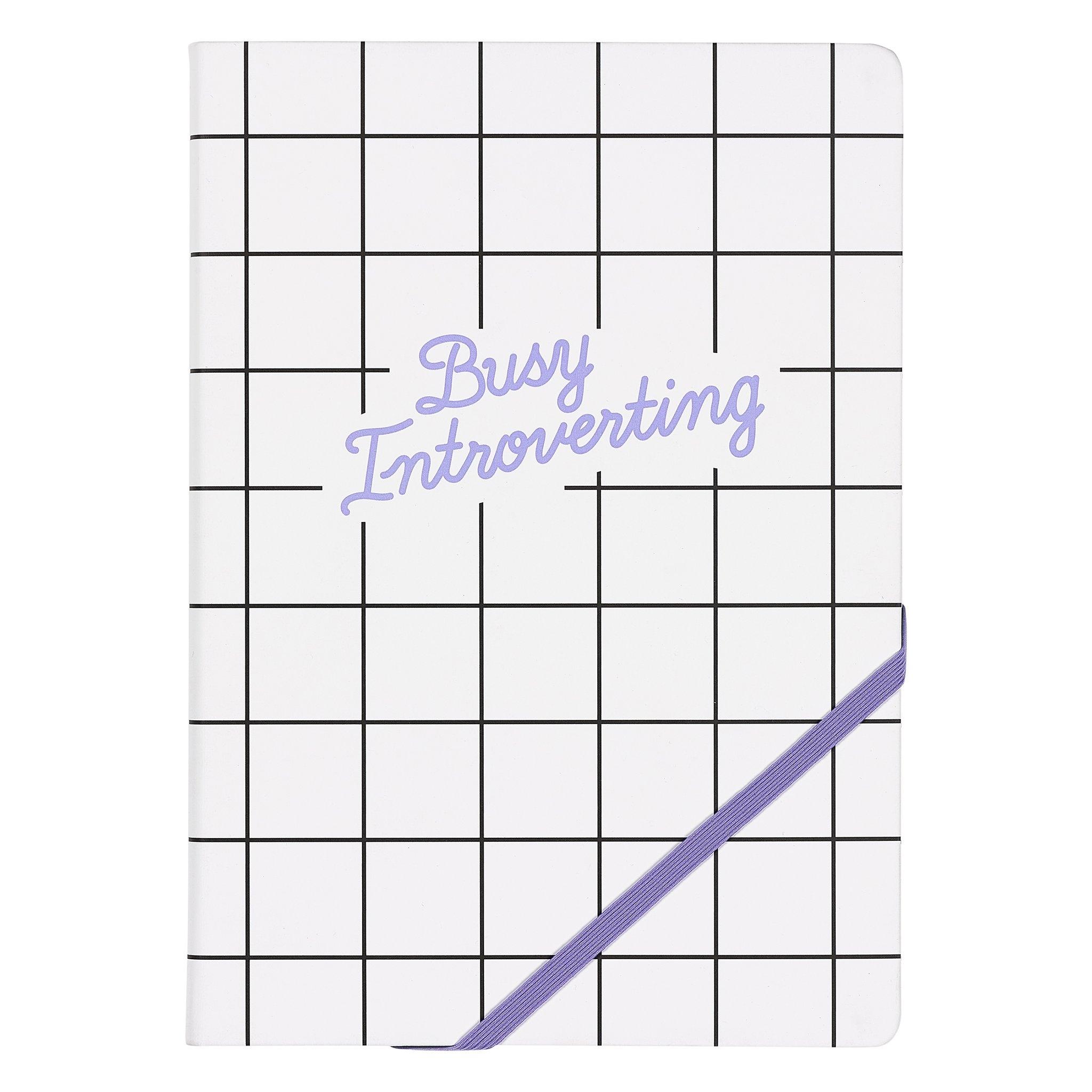 Agenda A5 Busy Introverting YST045, 192 pagini, Wild & Wolf imagine