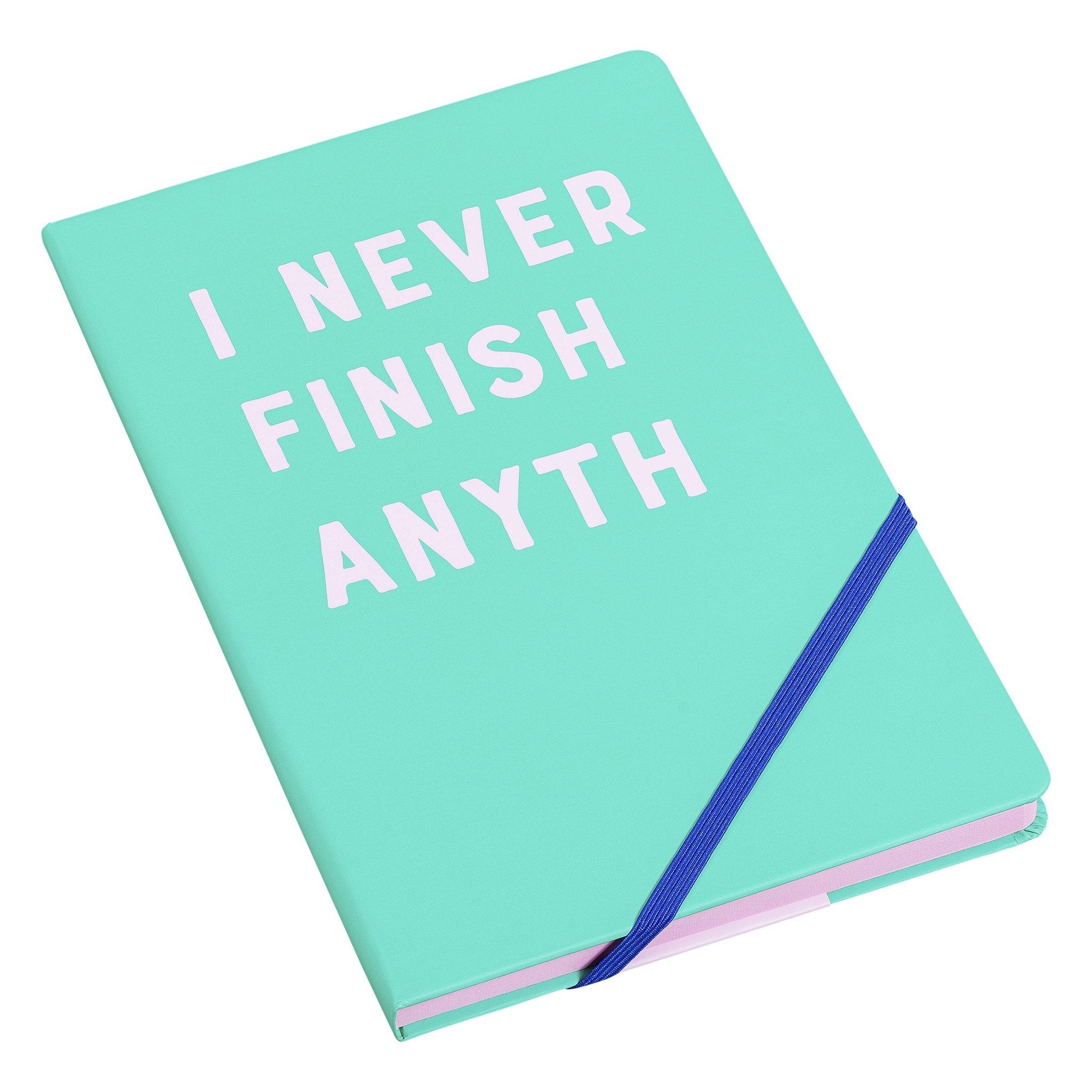 Agenda A5 I never finish YST088, 192 pagini, Wild & Wolf imagine