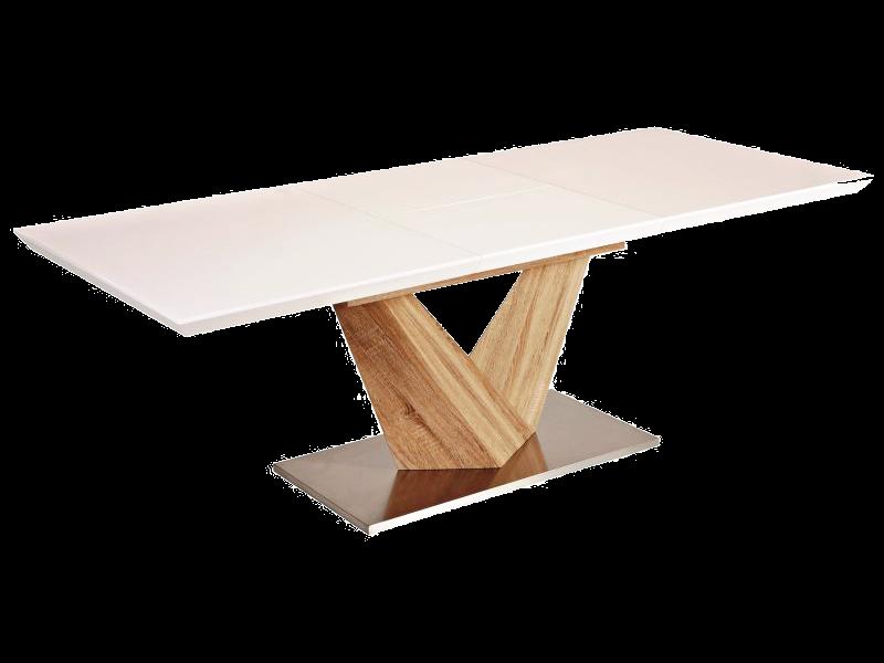 Masa extensibila din lemn masiv Alaras