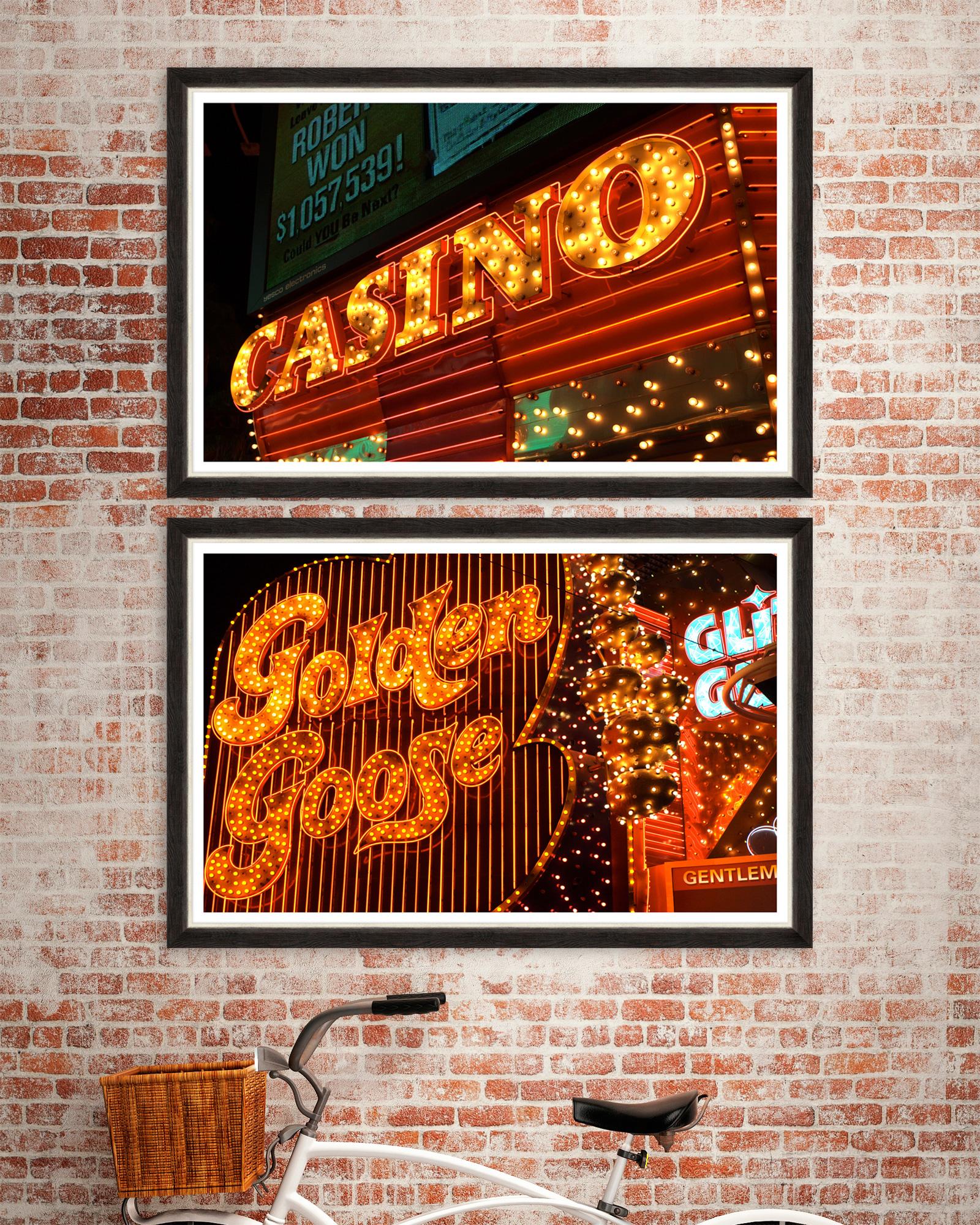 Tablou 2 piese Framed Art American Casino
