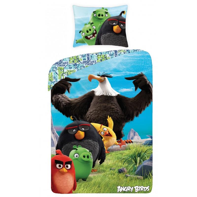 Lenjerie de pat copii Cotton Angry Birds 1174