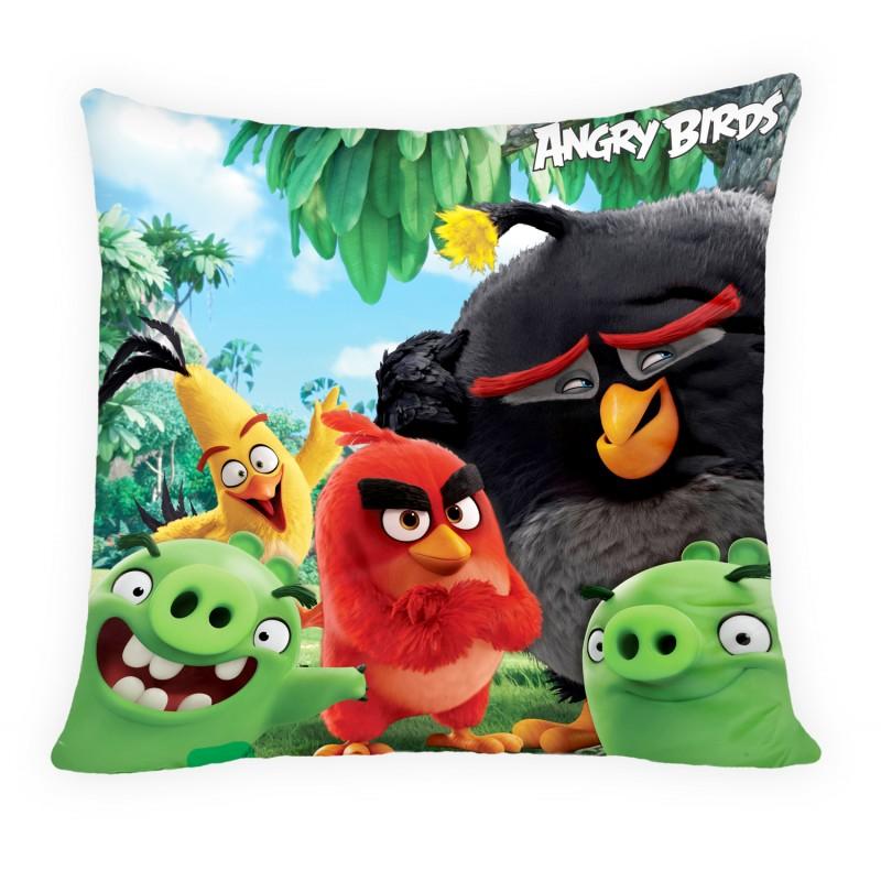 Perna decorativa Angry Birds ABM-111c, L40xl40 cm