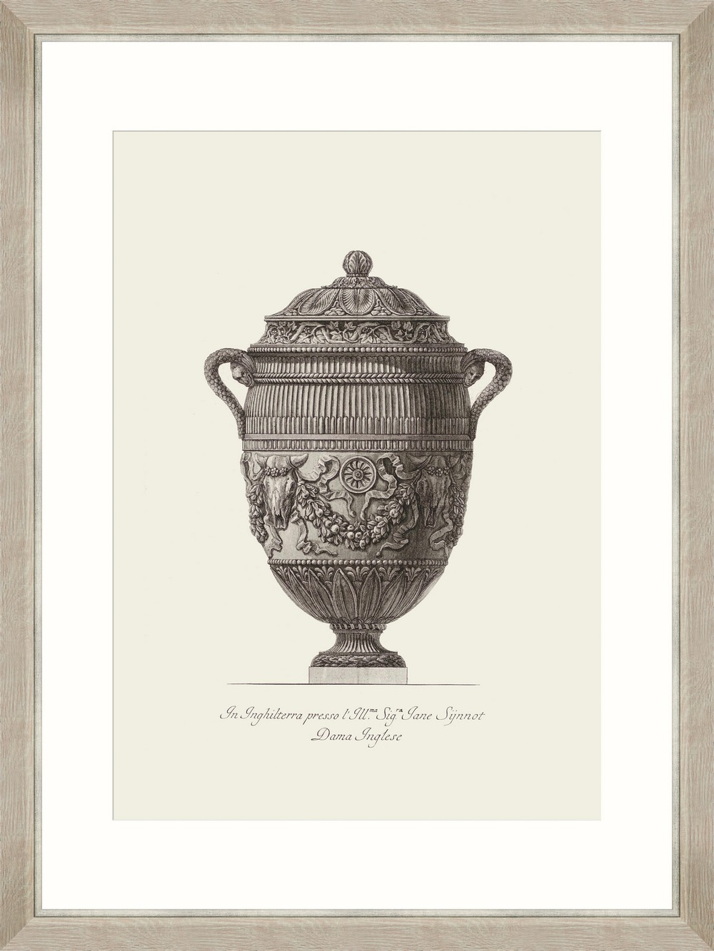 Tablou Framed Art Antique Urn IV