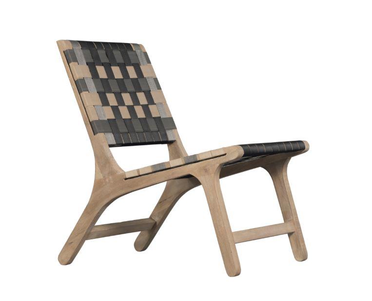 Scaun din lemn de mango Stripe