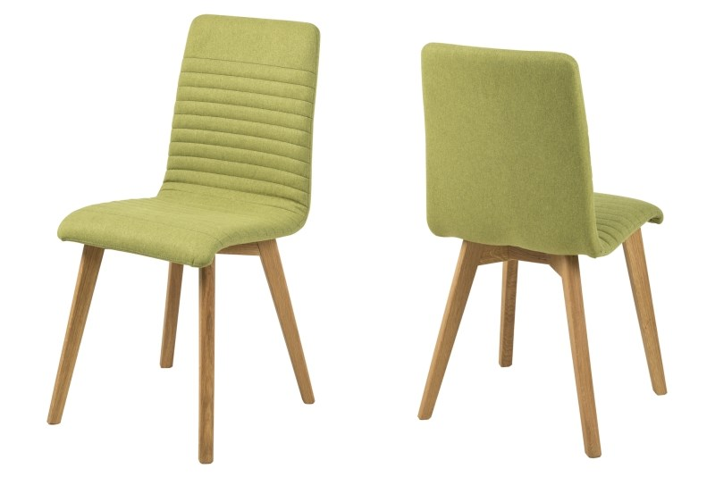 Set 2 scaune din lemn Arosa Green
