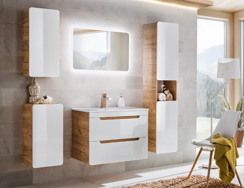 Set Mobilier pentru baie, 5 piese, Aruba imagine