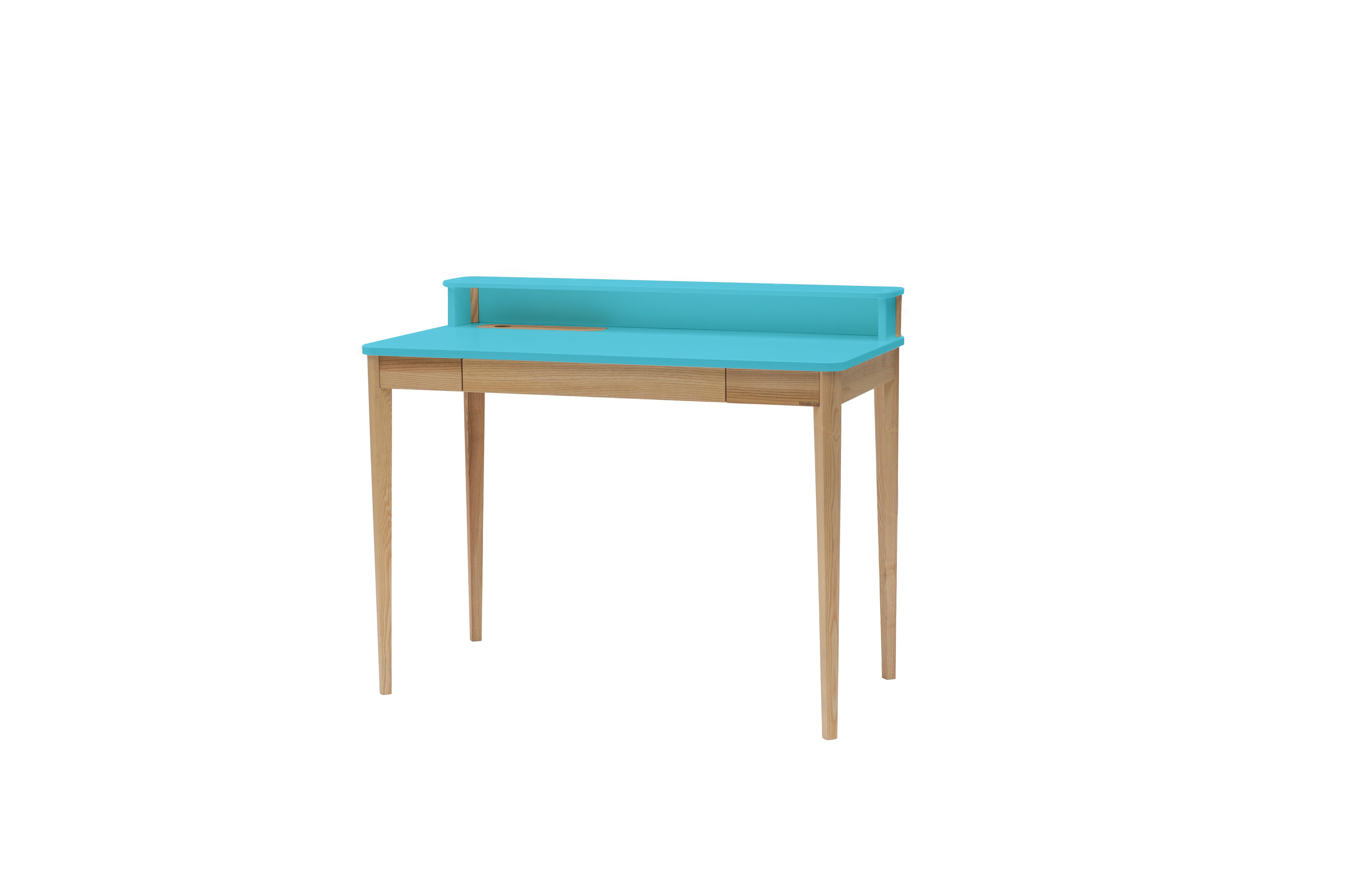 Masa de birou Ashme Dark Turquoise, L119xl56xh75 cm