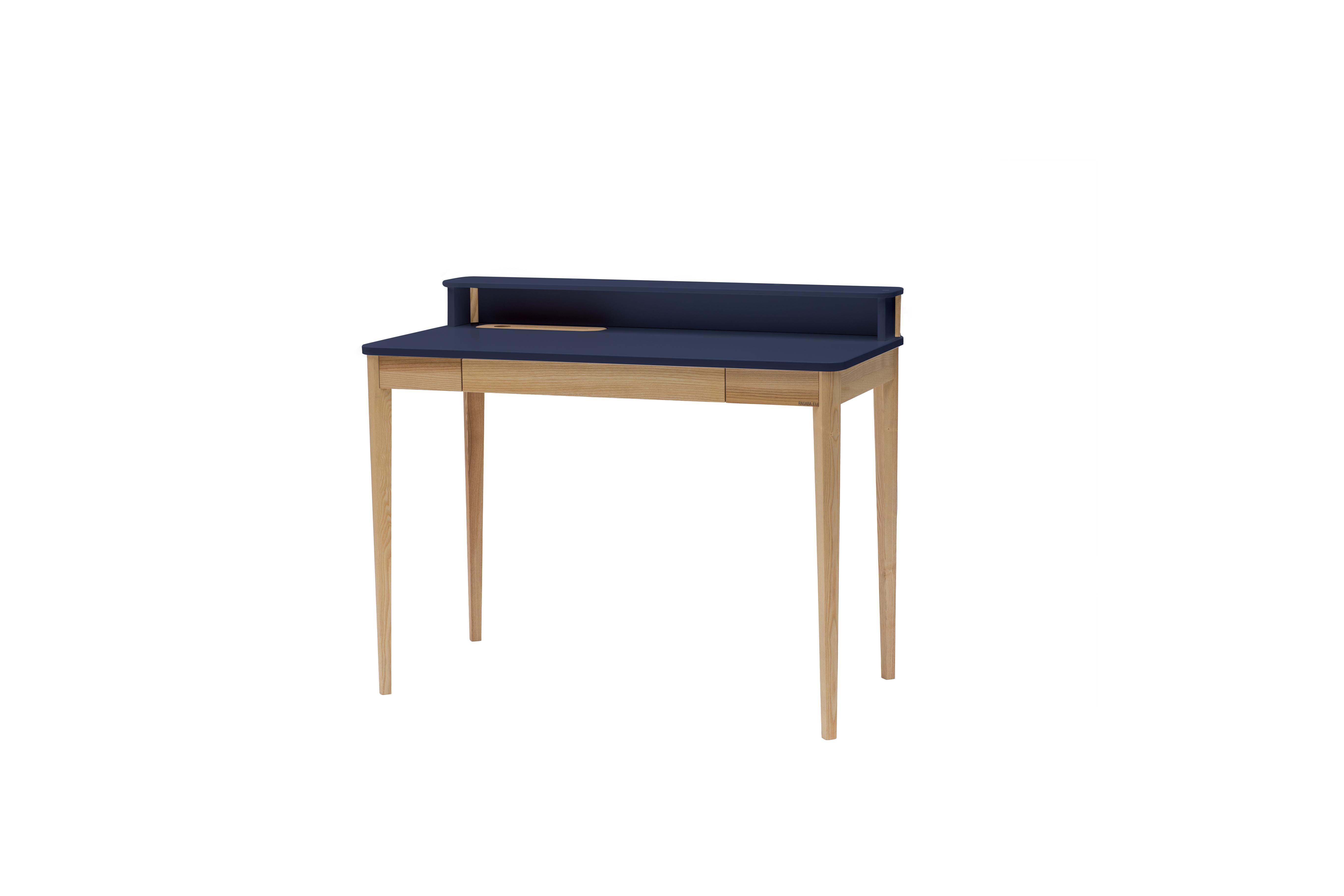 Masa de birou Ashme Graphite, L119xl56xh75 cm