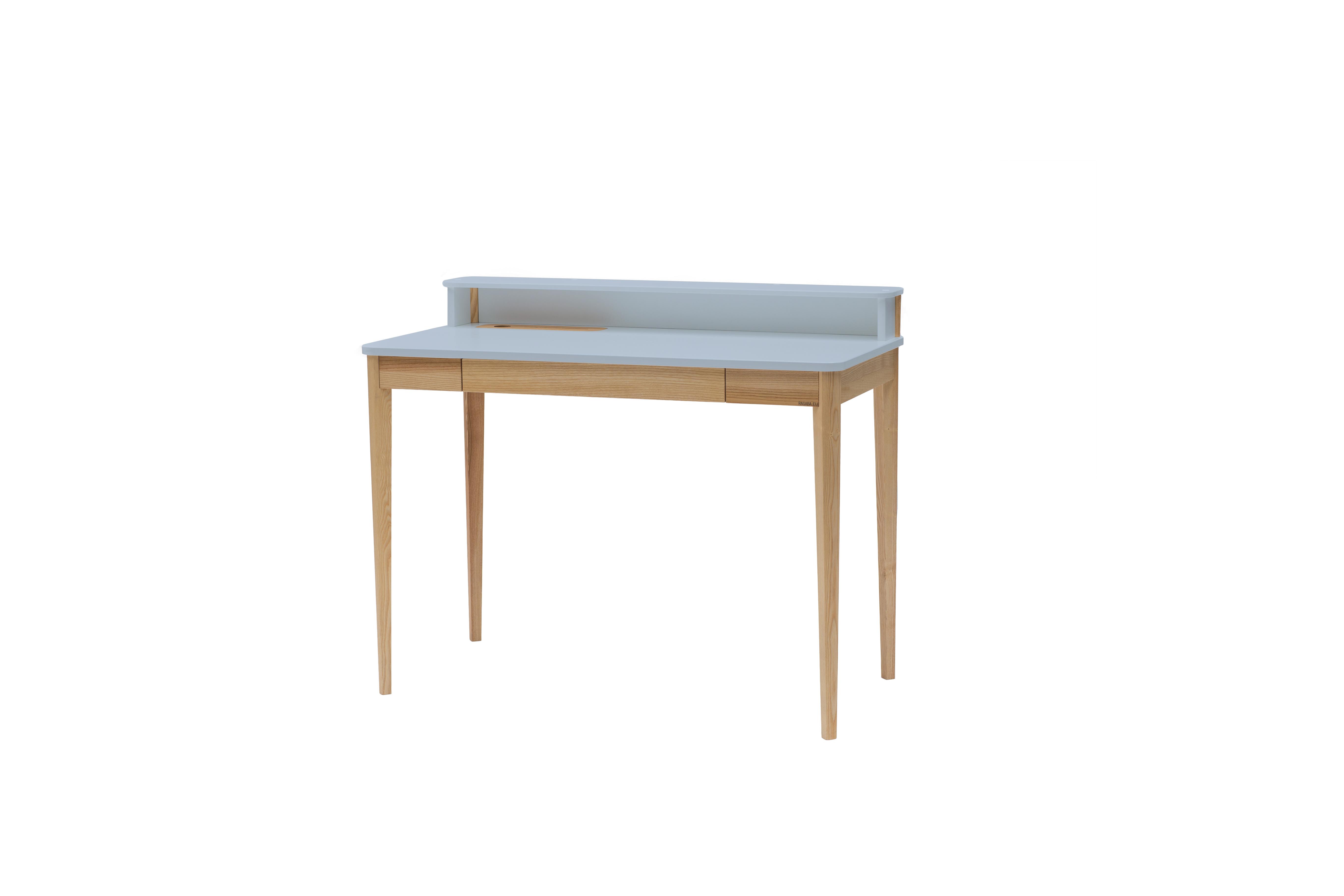 Masa de birou Ashme Light Grey, L119xl56xh75 cm