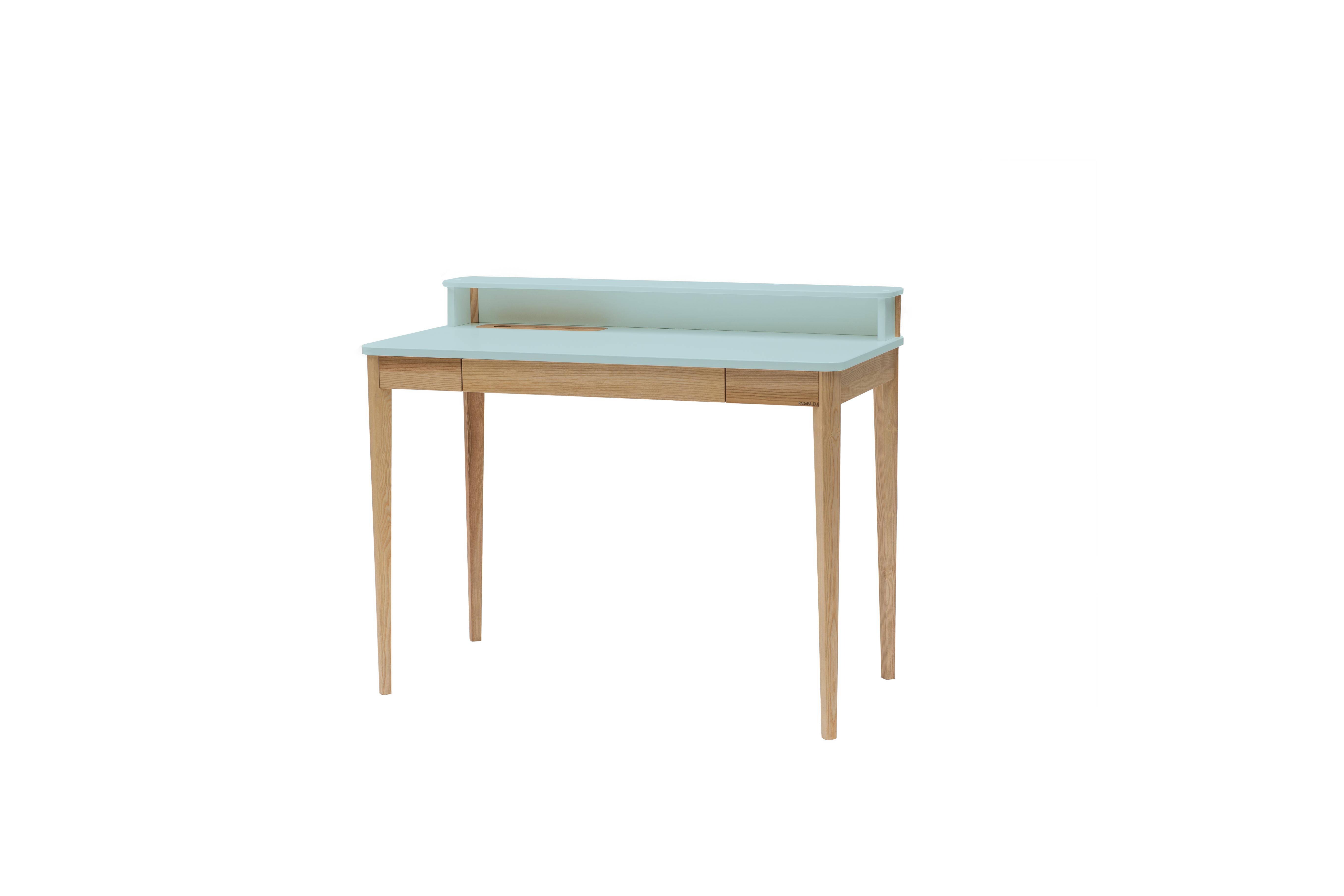 Masa de birou Ashme Light Turquoise, L119xl56xh75 cm